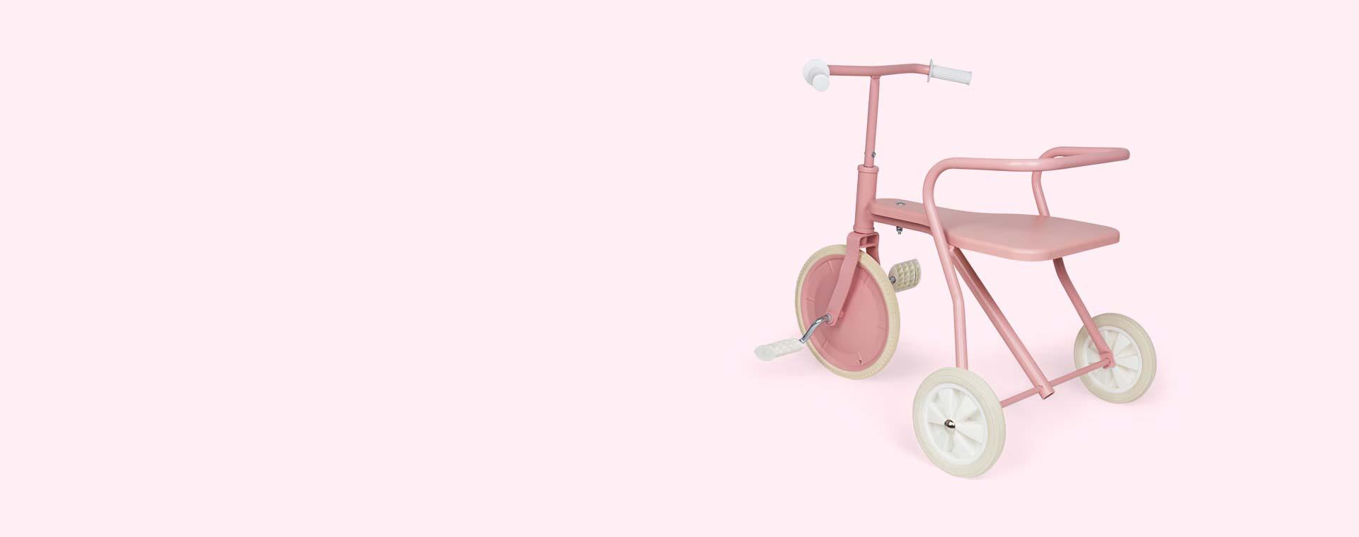 Pink Foxrider Retro Tricycle