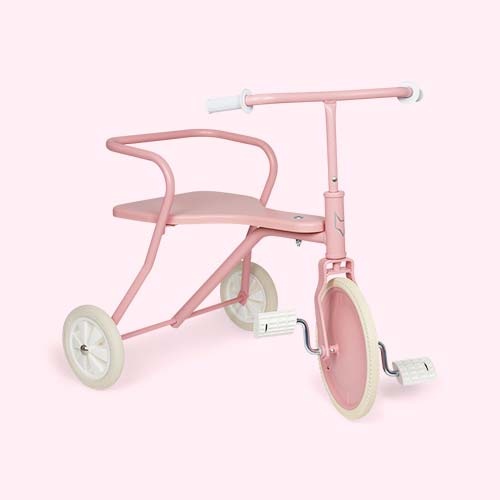 Pink Foxrider Retro Tricycle