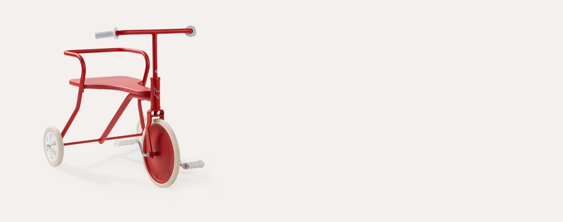 Red Foxrider Retro Tricycle