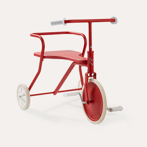Red Foxrider Retro Tricycle
