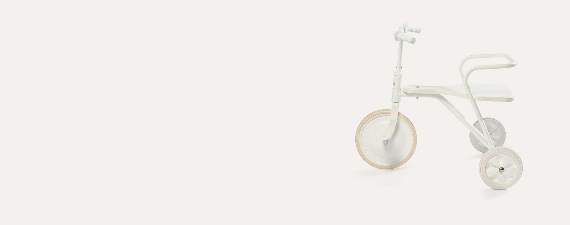White Foxrider Retro Tricycle