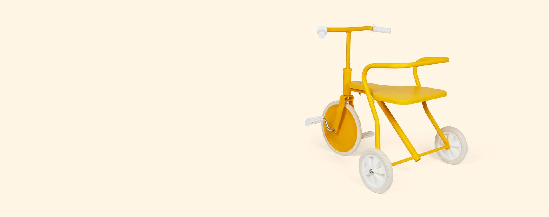 Yellow Foxrider Retro Tricycle