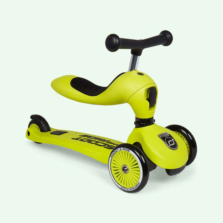 Lime Scoot & Ride Highwaykick 1 Ride-on Scooter