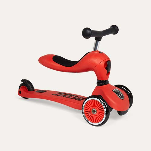 Red Scoot & Ride Highwaykick 1 Ride-on Scooter