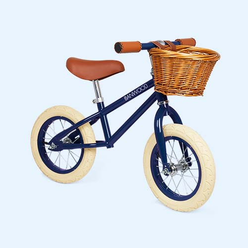 Navy Blue Banwood First Go Balance Bike