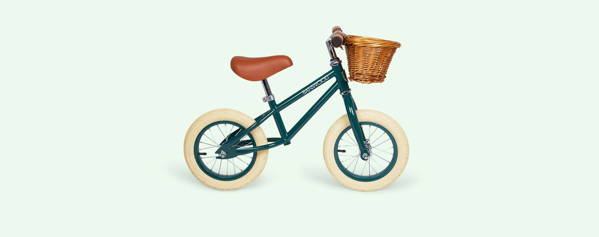 Dark Green Banwood First Go Balance Bike