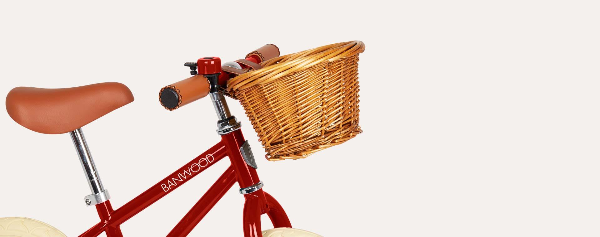 Red Banwood First Go Balance Bike