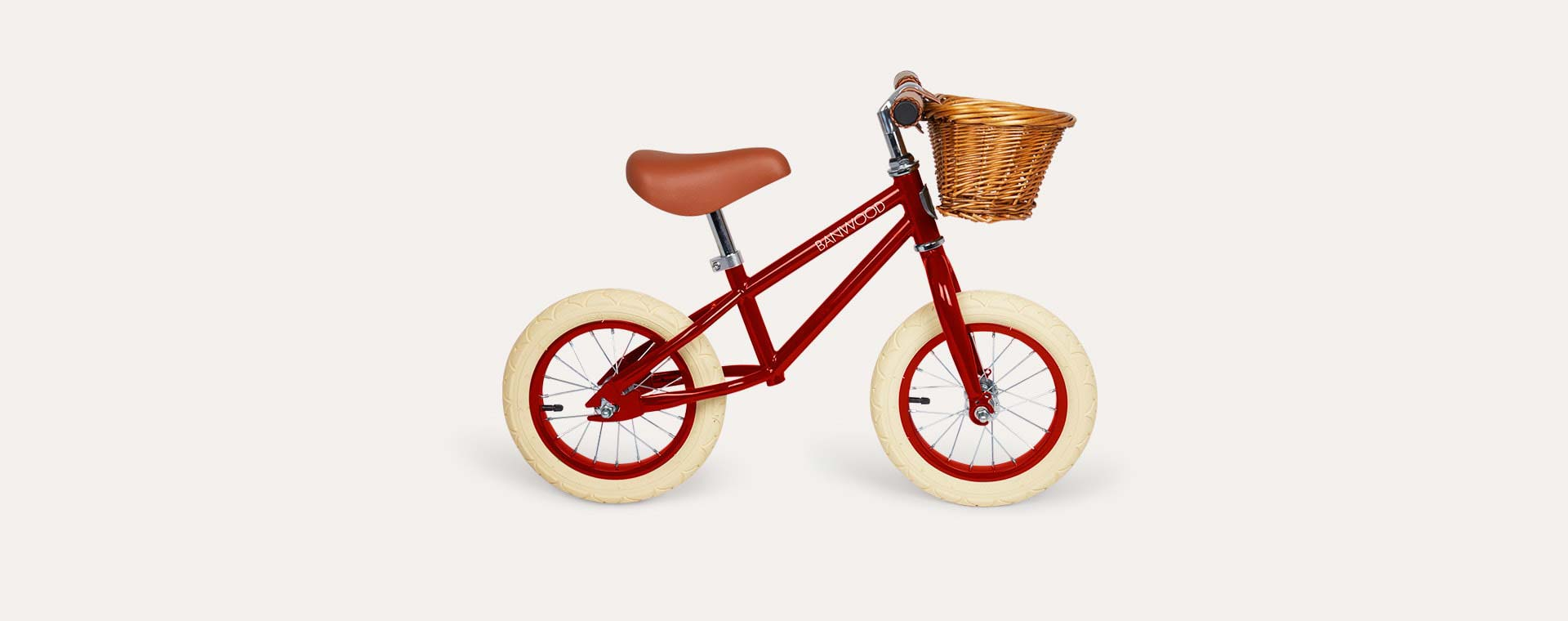 Red Banwood First Go Balance Bike