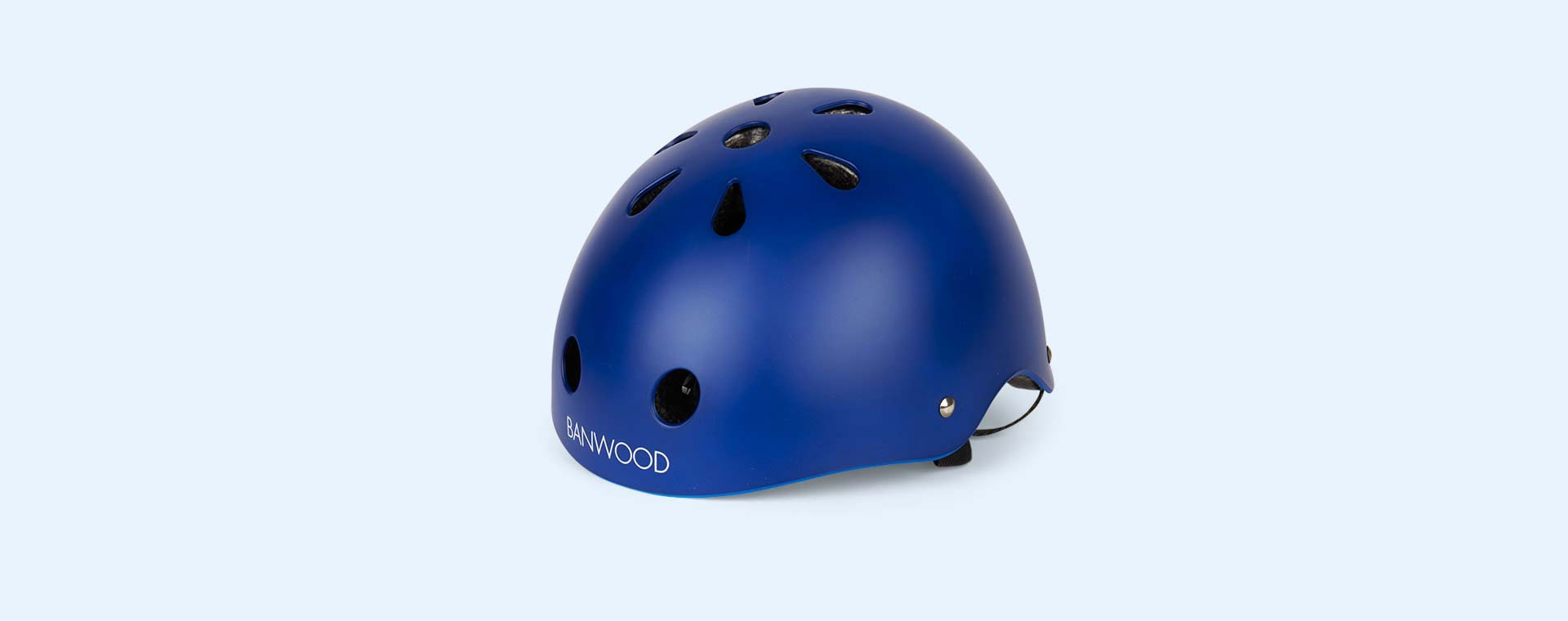Navy Blue Banwood Classic Kids Bike Helmet