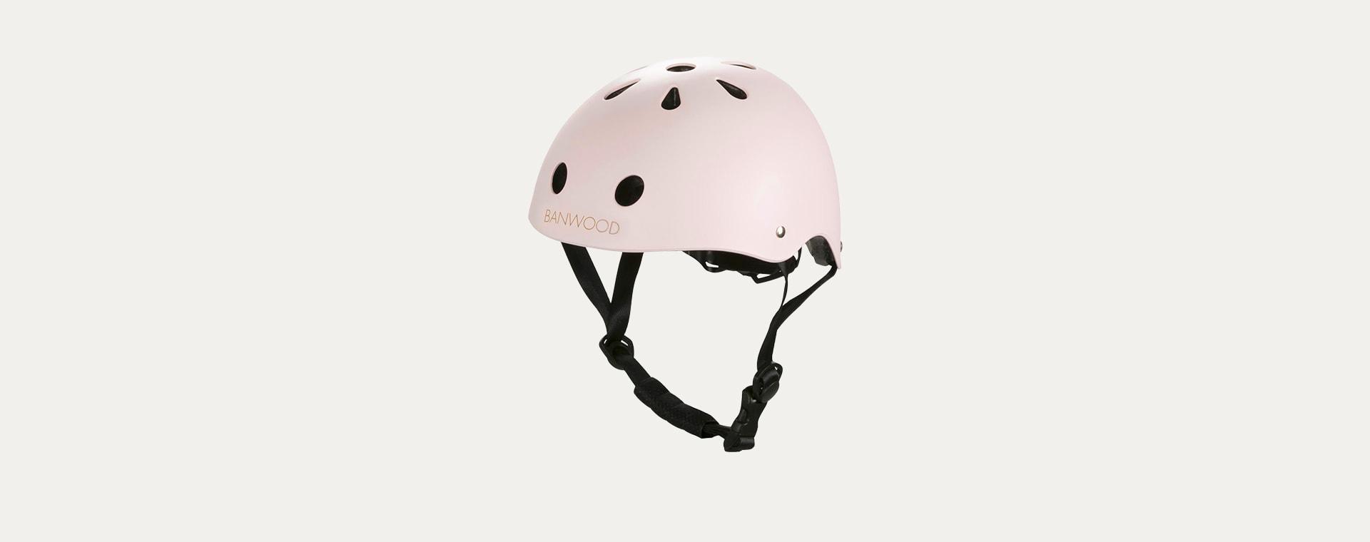 Light Pink Banwood Classic Kids Bike Helmet