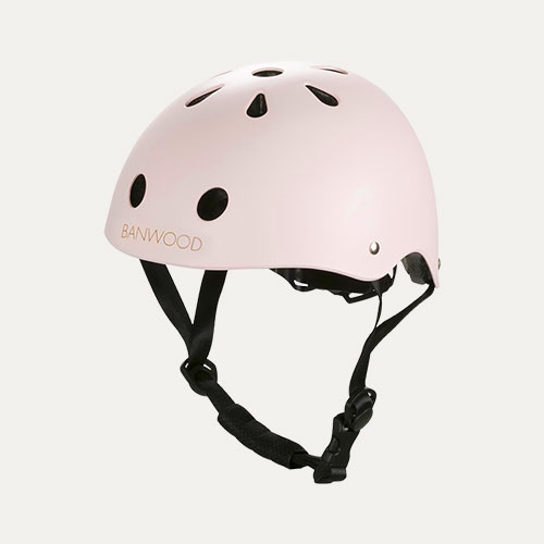 Light Pink Banwood Classic Kids Bike Helmet
