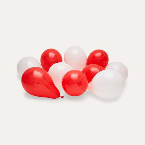 Multi Bubblegum Balloons Candy Cane Mini Balloons - 28 Pack