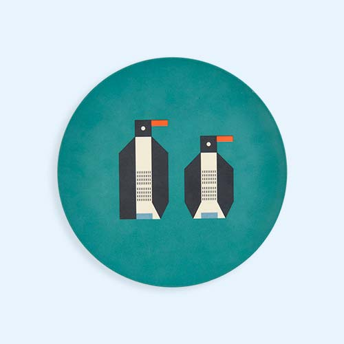 Penguin Plentimals Animal Plate