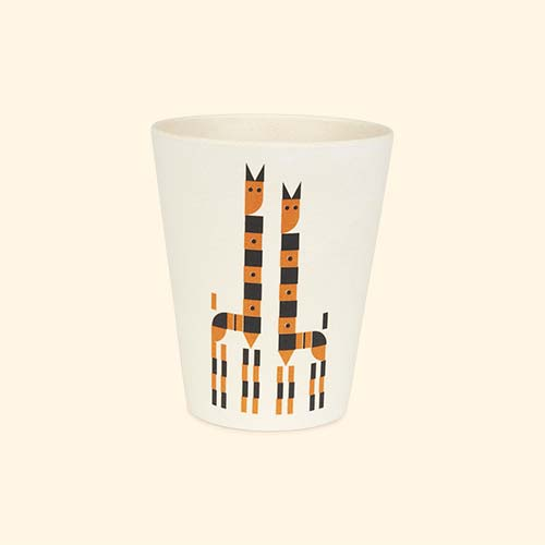 Giraffe Plentimals Animal Cup