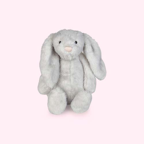 Grey Jellycat Small Bashful Birch Bunny