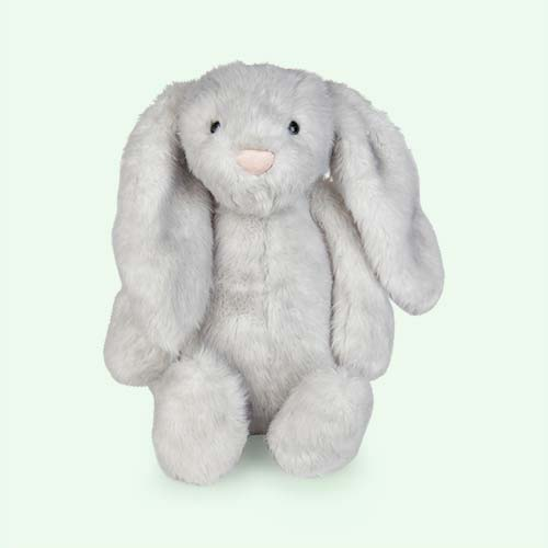 Grey Jellycat Medium Bashful Birch Bunny