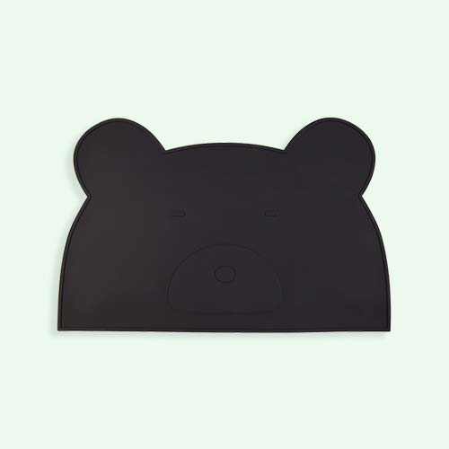Black Liewood Bear Placemat