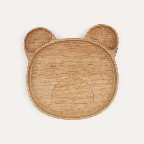 Bear Liewood Wood Plate