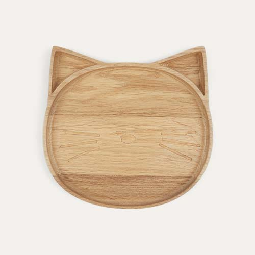Cat Liewood Wood Plate