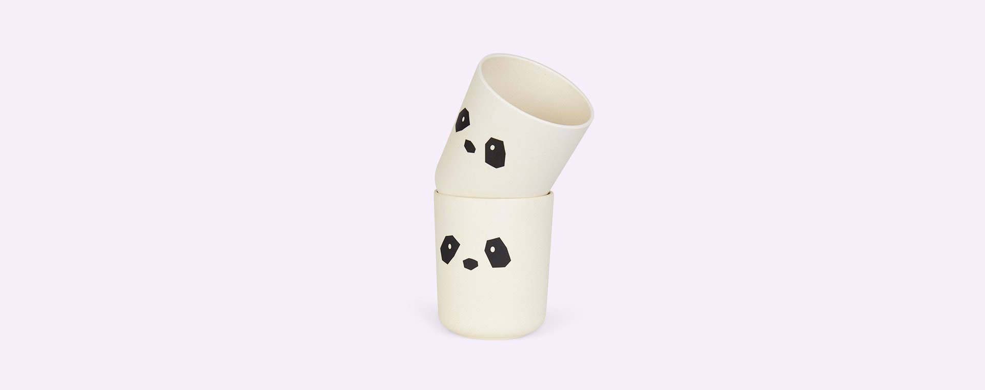 Panda Liewood Bamboo Cups - 2 Pack