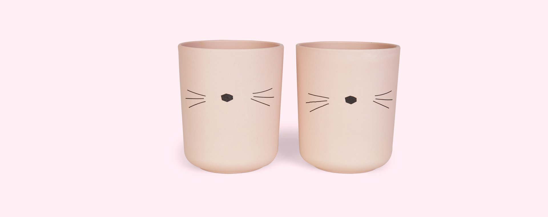 Cat Liewood Bamboo Cups - 2 Pack