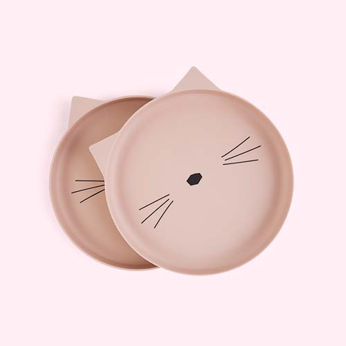 Cat Liewood Bamboo Plates - 2 Pack