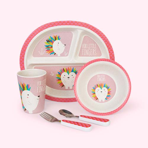 Hedgehog Hippychick Eco Dining Set