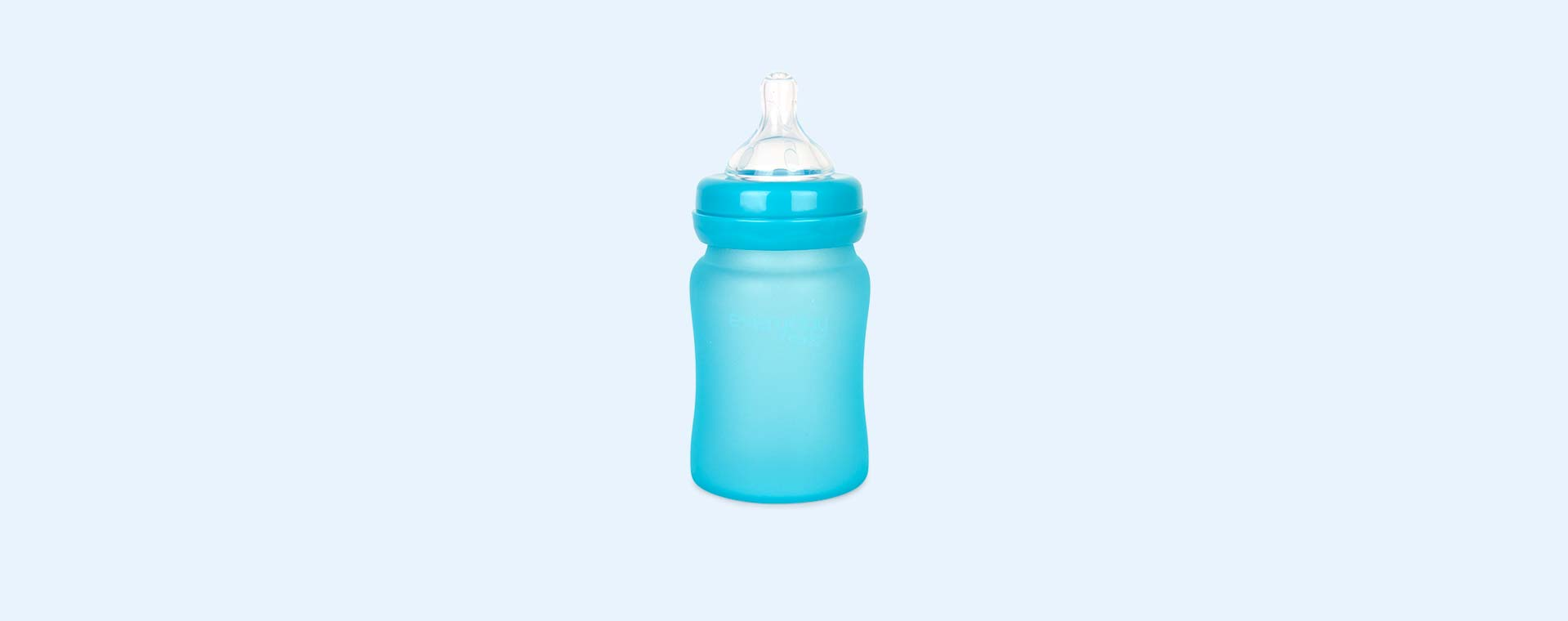 Turquoise Everyday Baby Glass Bottle 150ml
