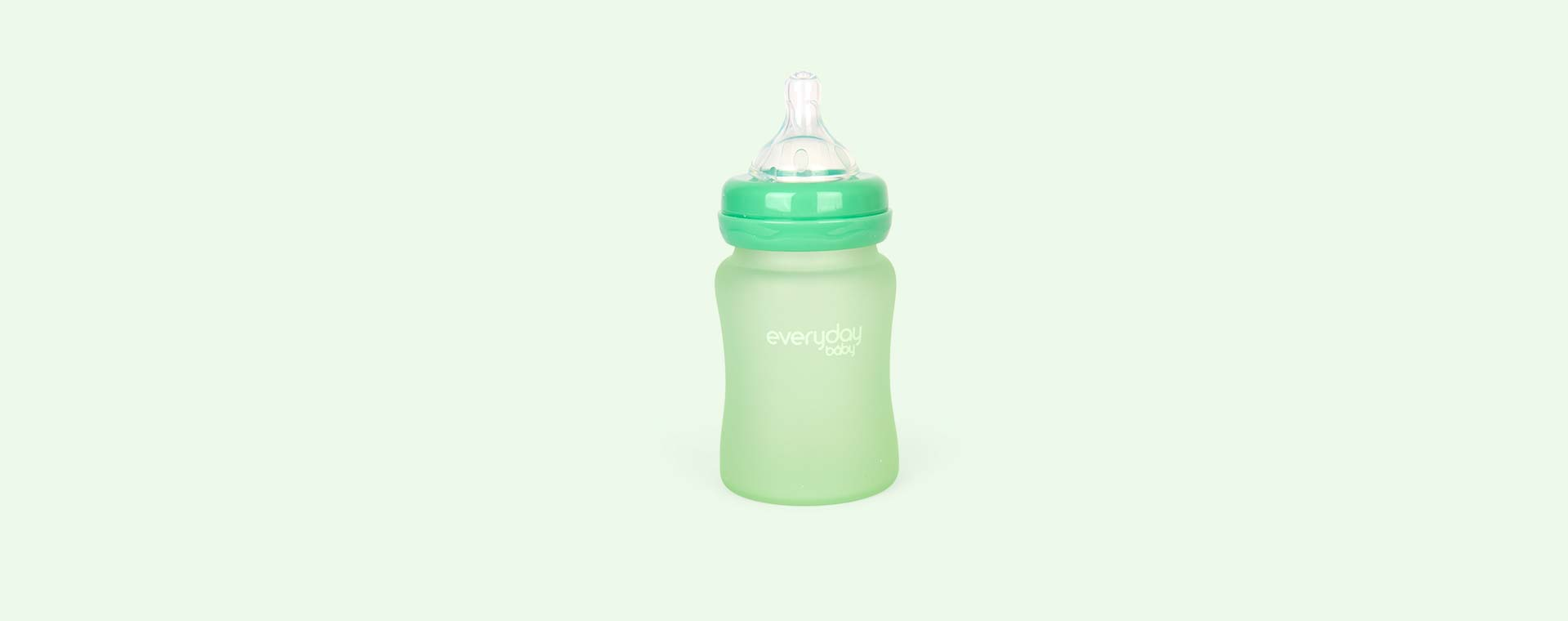 Green Everyday Baby Glass Bottle 150ml