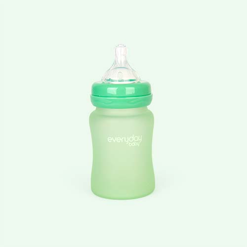 Green Everyday Baby Glass Bottle 150ml