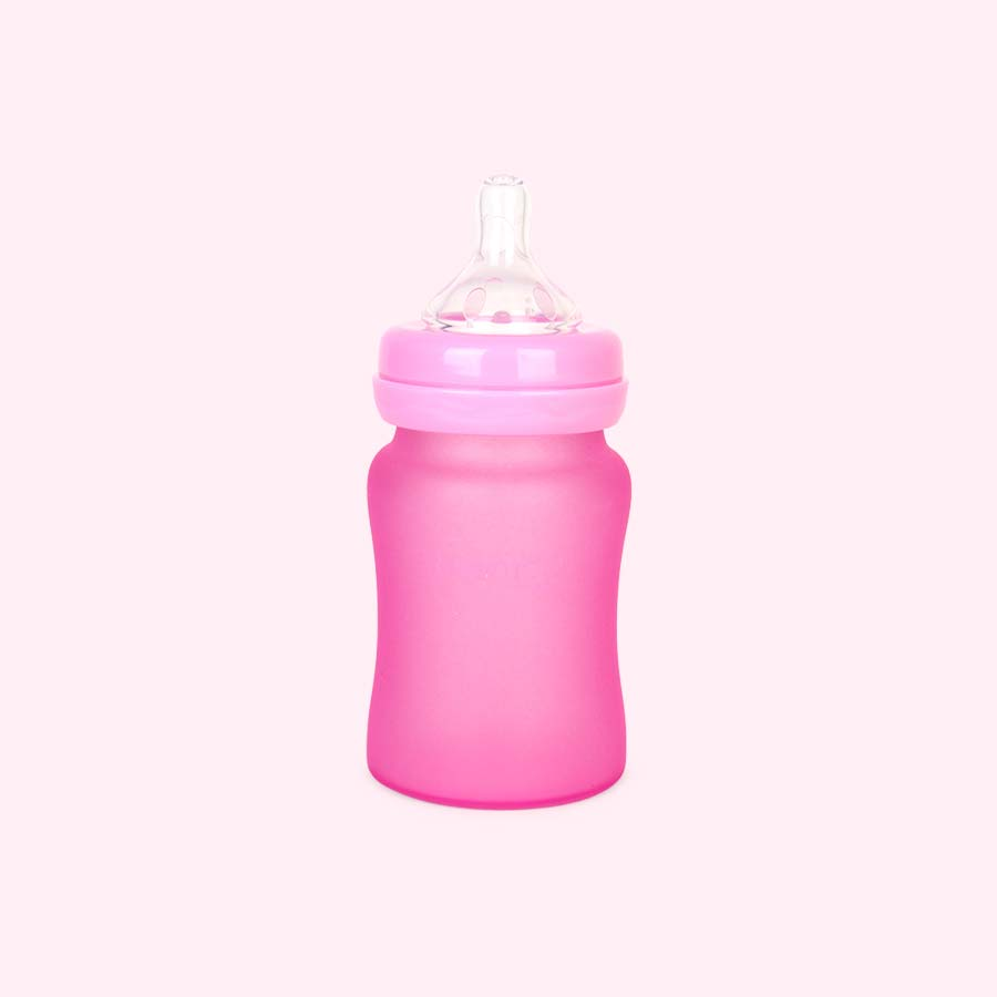 Pink Everyday Baby Glass Bottle 150ml