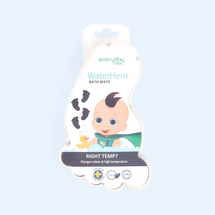 Grey Everyday Baby WaterHero Bath Mat