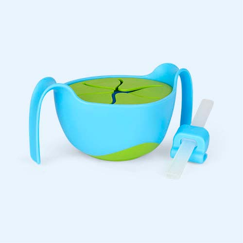 Ocean Breeze b.box Bowl & Straw