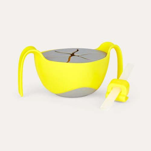 Lemon Sherbert b.box Bowl & Straw