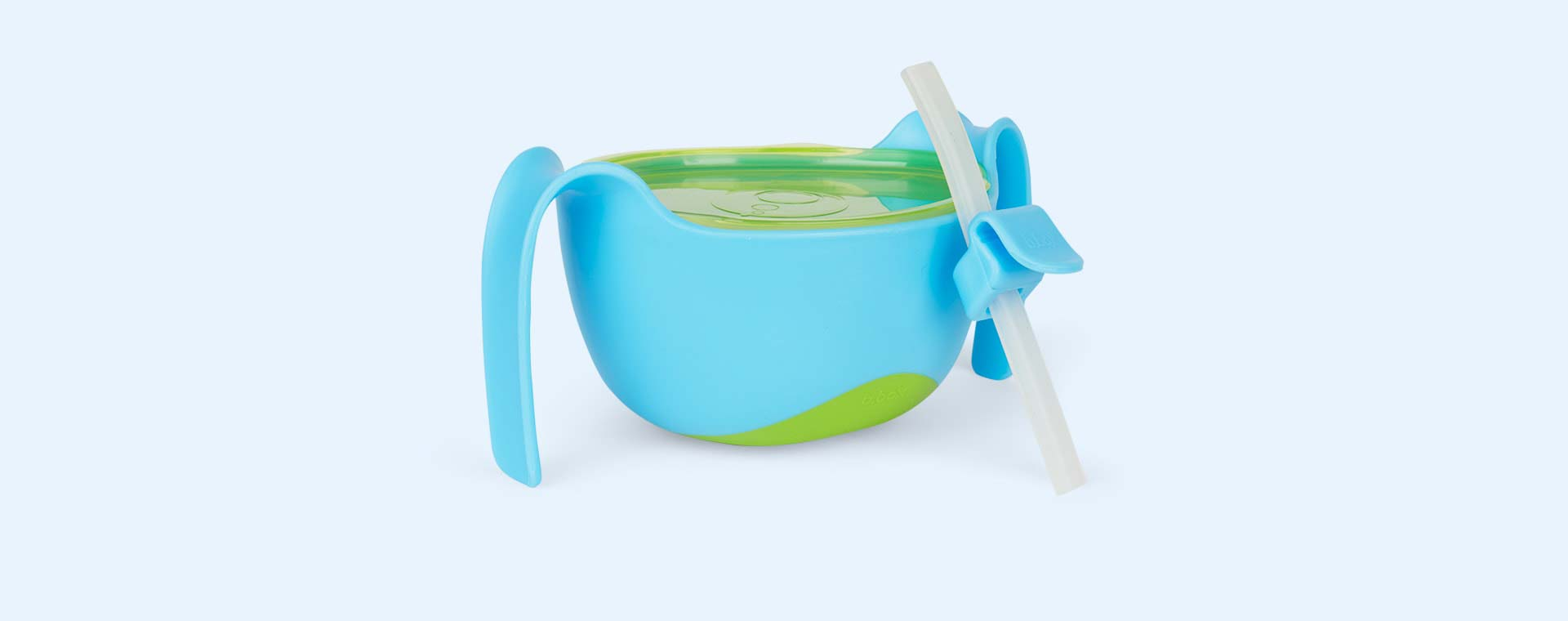 Ocean Breeze b.box Bowl XL and Straw