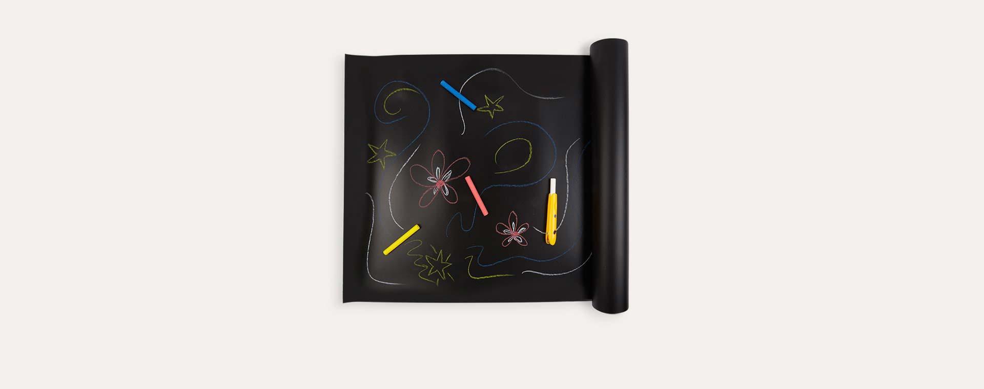 Black Jaq Jaq Bird Chalk Board Table Runner