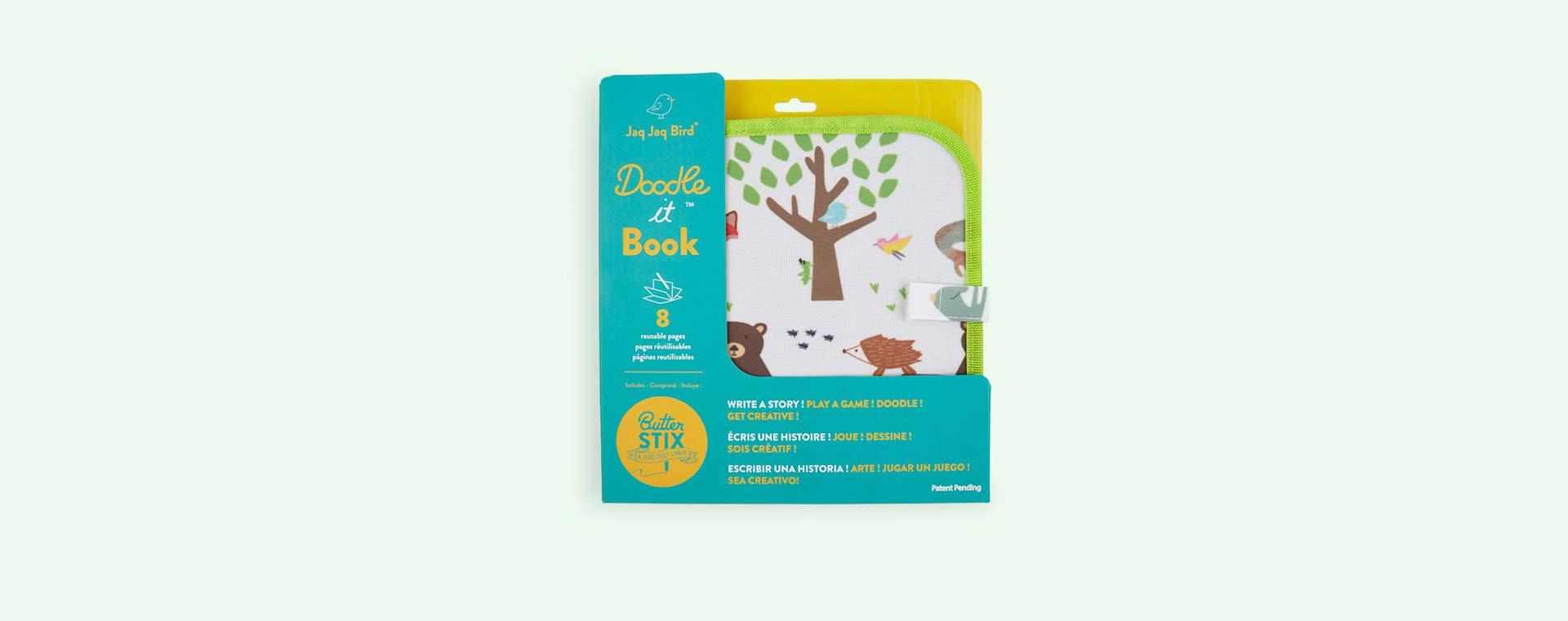 Forest Jaq Jaq Bird Chalk Board Book
