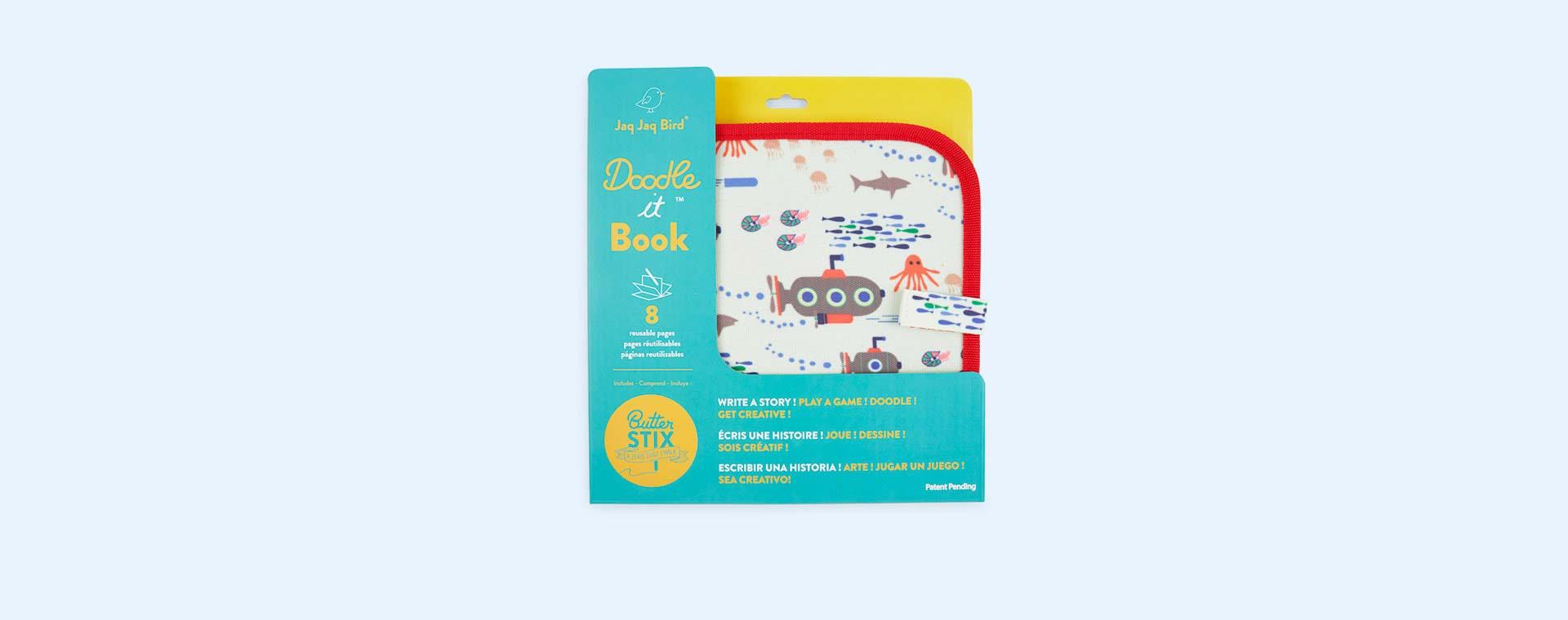 Submarine Jaq Jaq Bird Chalk Board Book