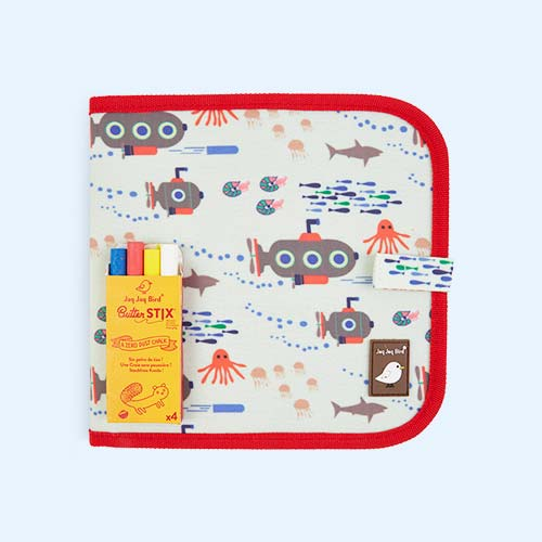 Submarine Jaq Jaq Bird Chalk Board Book