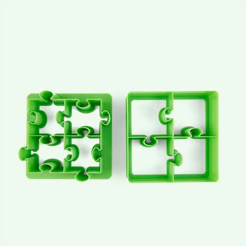 Puzzle Lunch Punch Sandwich Cutters