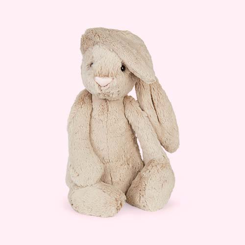 Neutral Jellycat Large Bashful Bunny