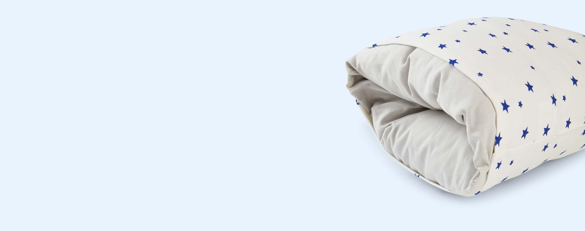 Blue Stars HushCush Nursing Pillow Cover