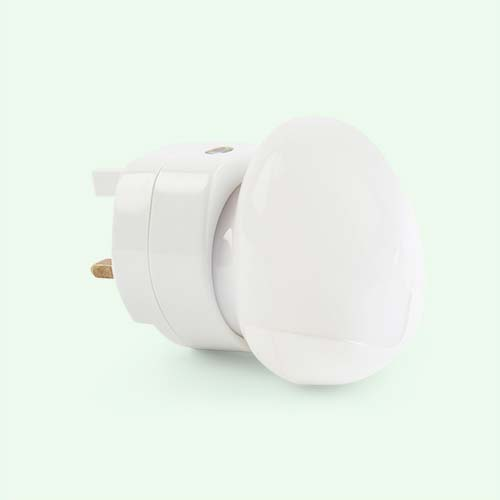 White Pabobo Automatic Night Light