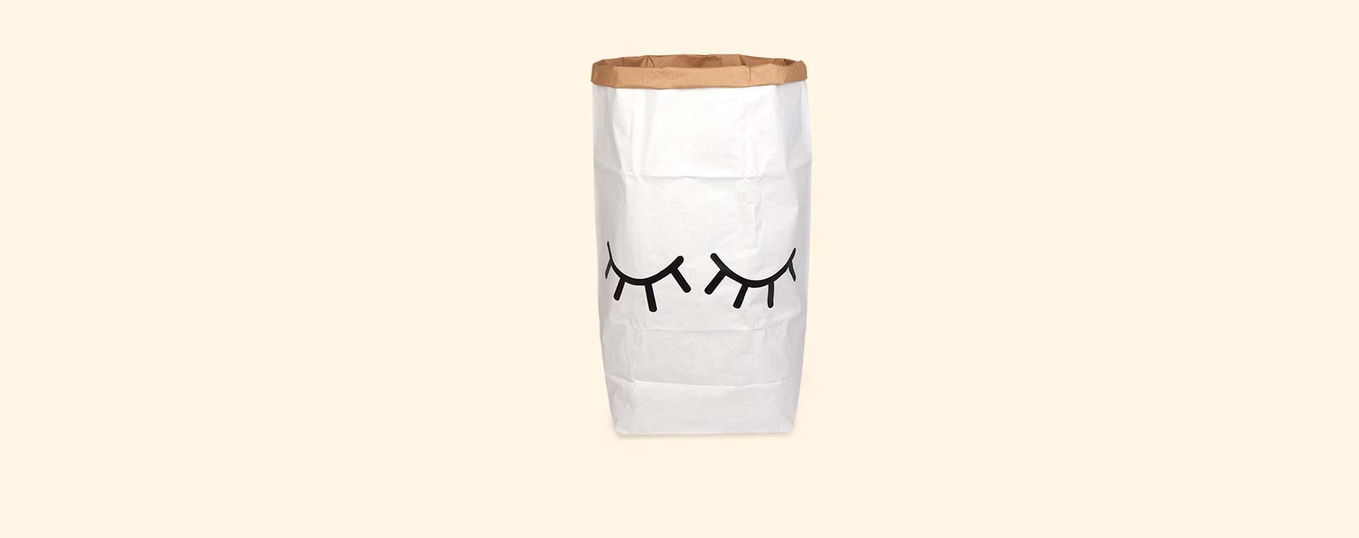 Closed Eyes Tellkiddo Large Paper Bag