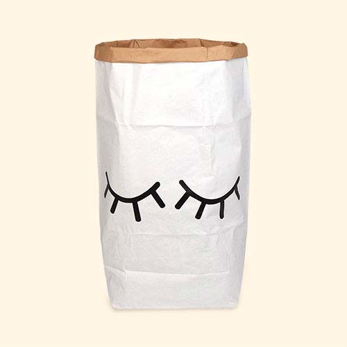 Closed Eyes Tellkiddo Large Paper Bag