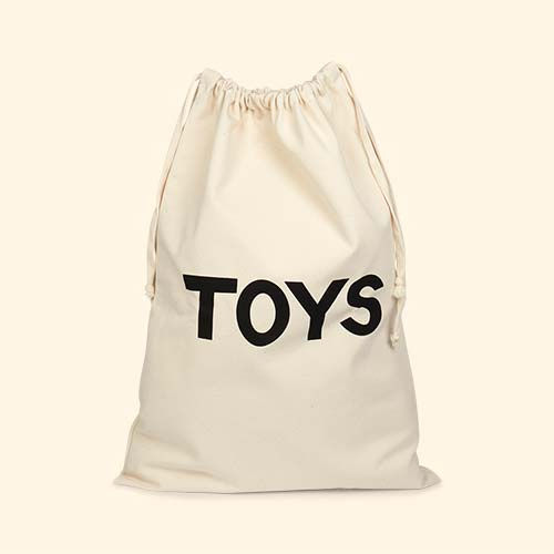Toys Tellkiddo Fabric Drawstring Bag