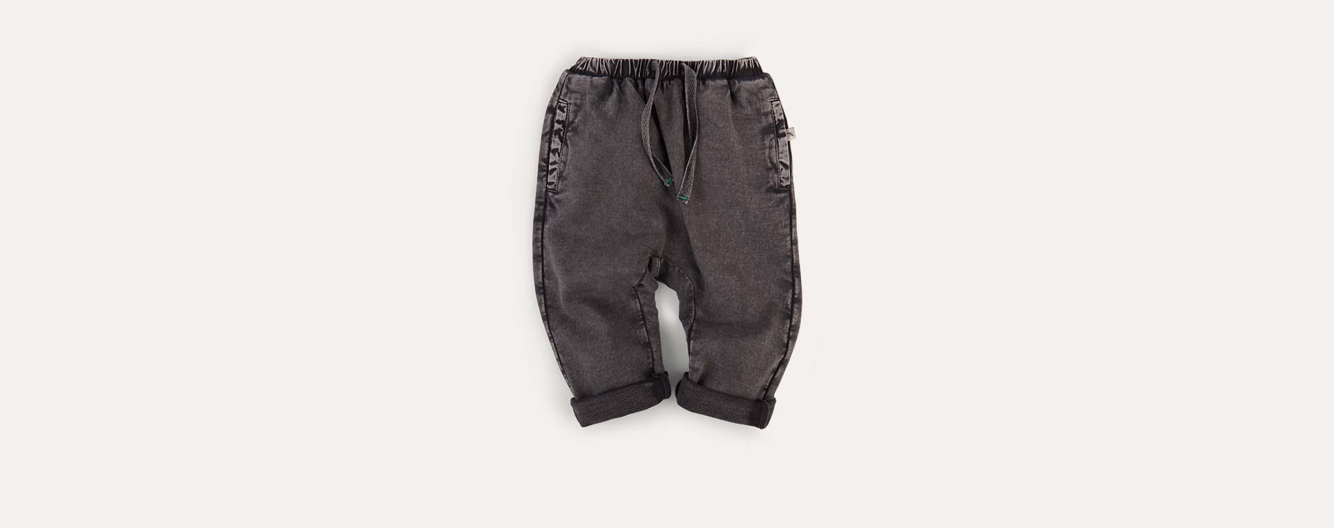 Grey KIDLY Label Jogger