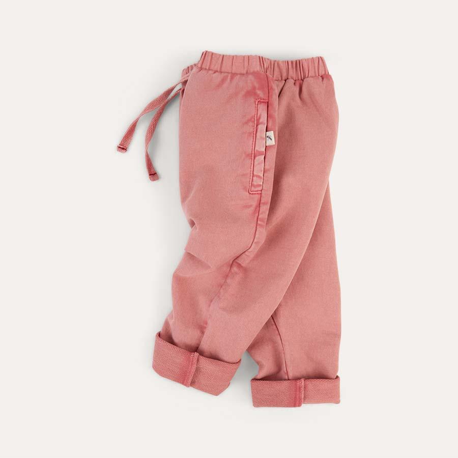 Pink KIDLY Label Jogger