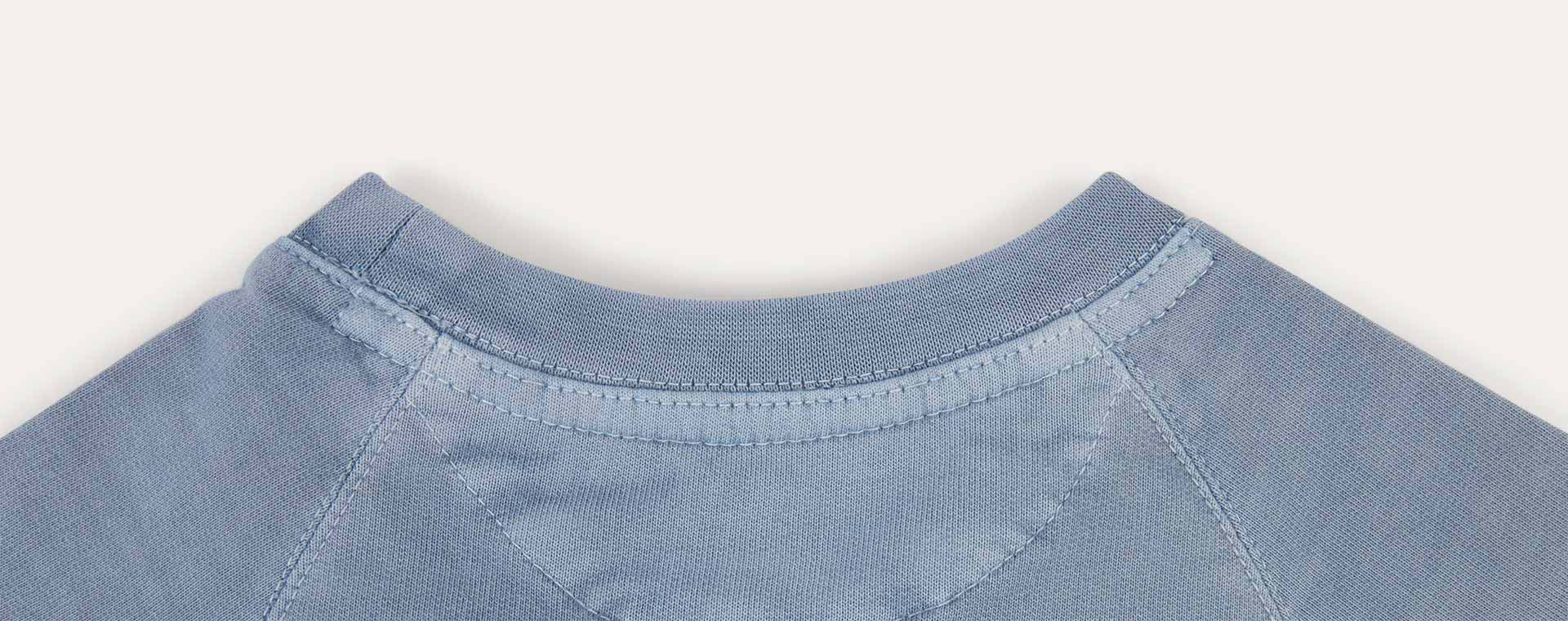 Light Blue KIDLY Label Sweatshirt