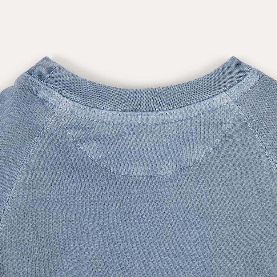 Light Blue KIDLY Label Sweatshirt
